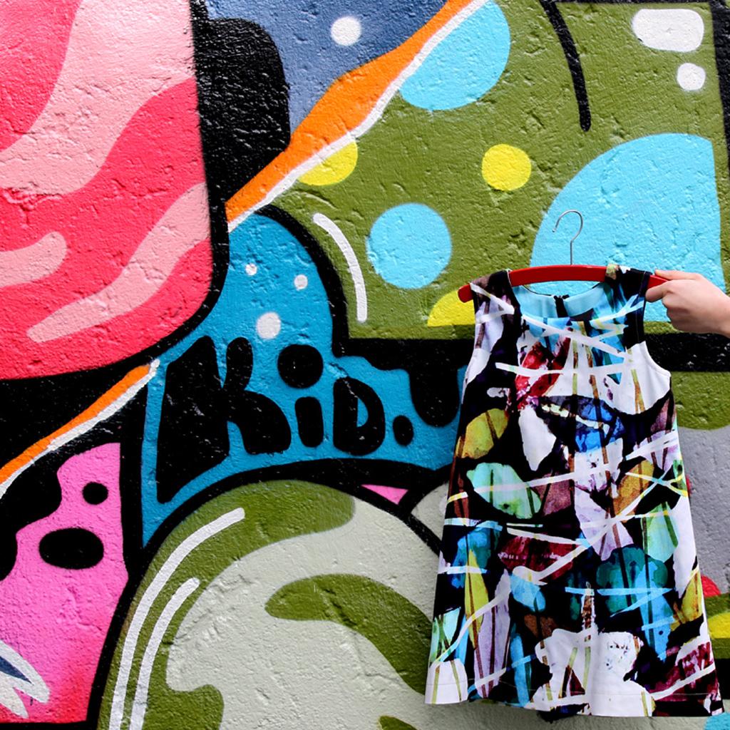 Streetart-Kinderkleid