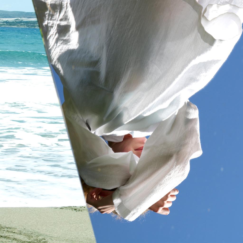 leichte Baumwoll Strandtunika