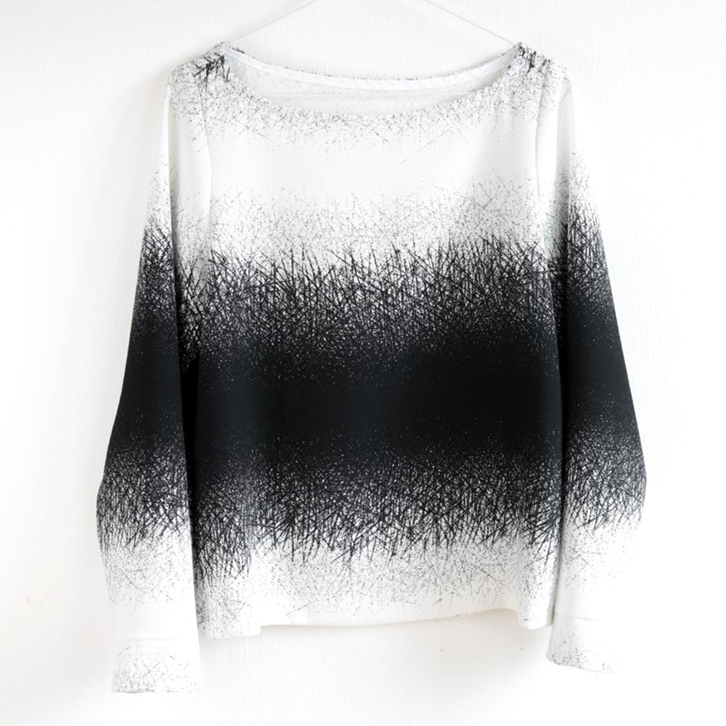shirt schwarz weiß