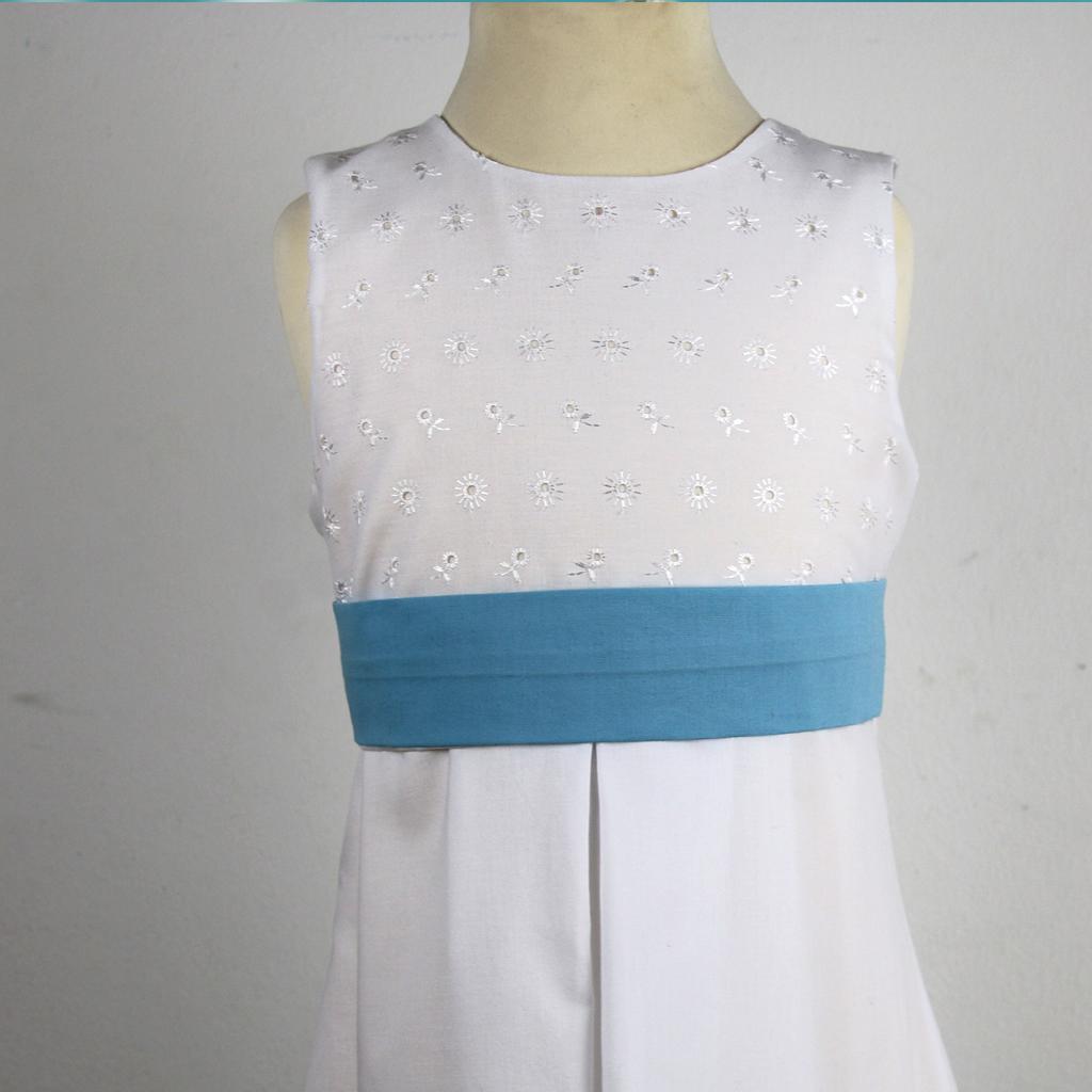 Baumwollgürtel in blau