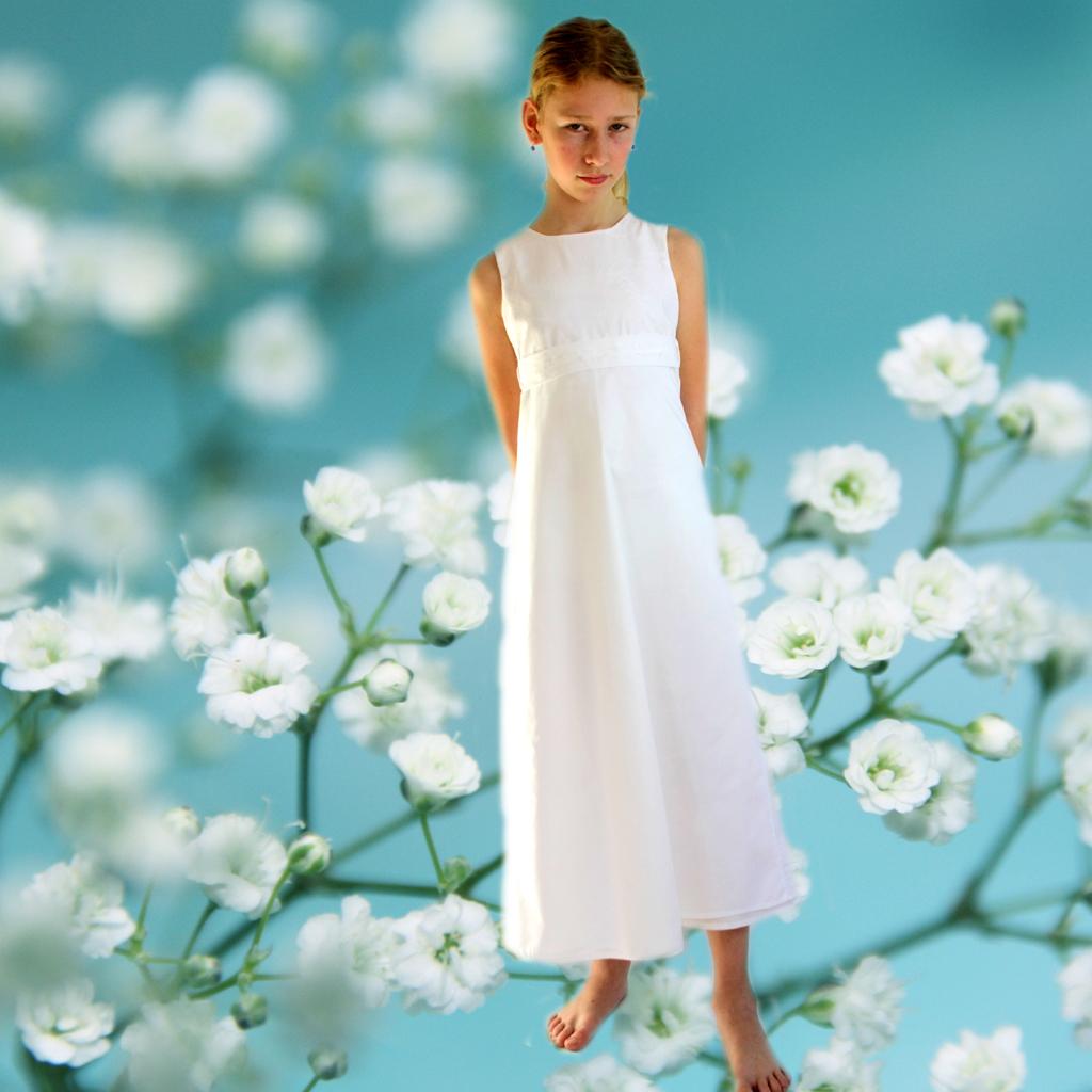 Festkleid in weiß
