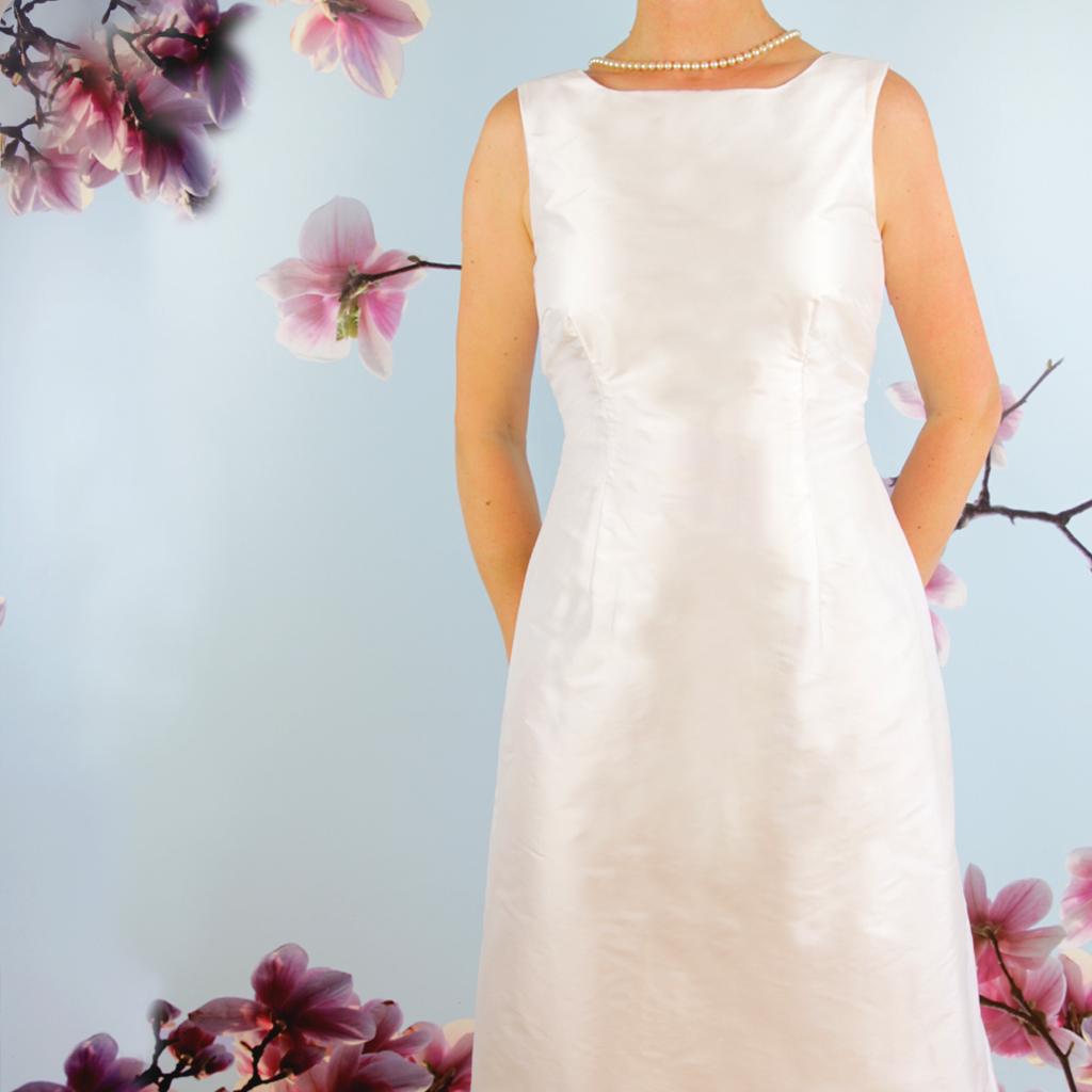 Hochzeitskleid schlicht lang