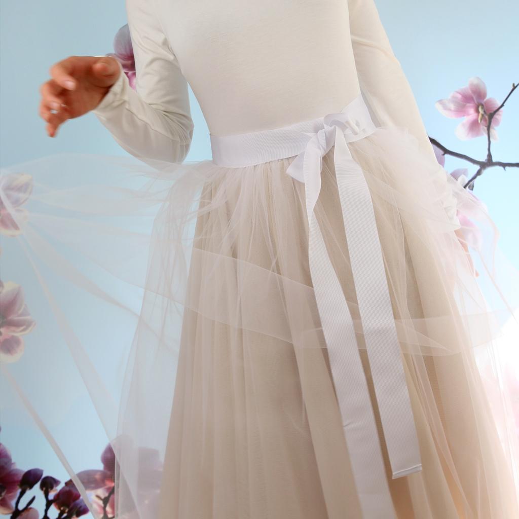 Tüllrock für die Hochzeit