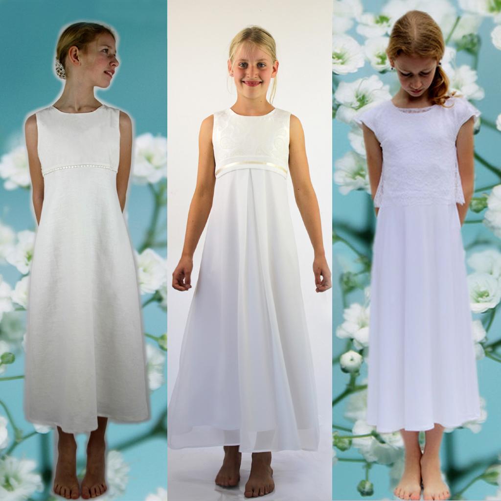 Kleid erstkommunion schlicht