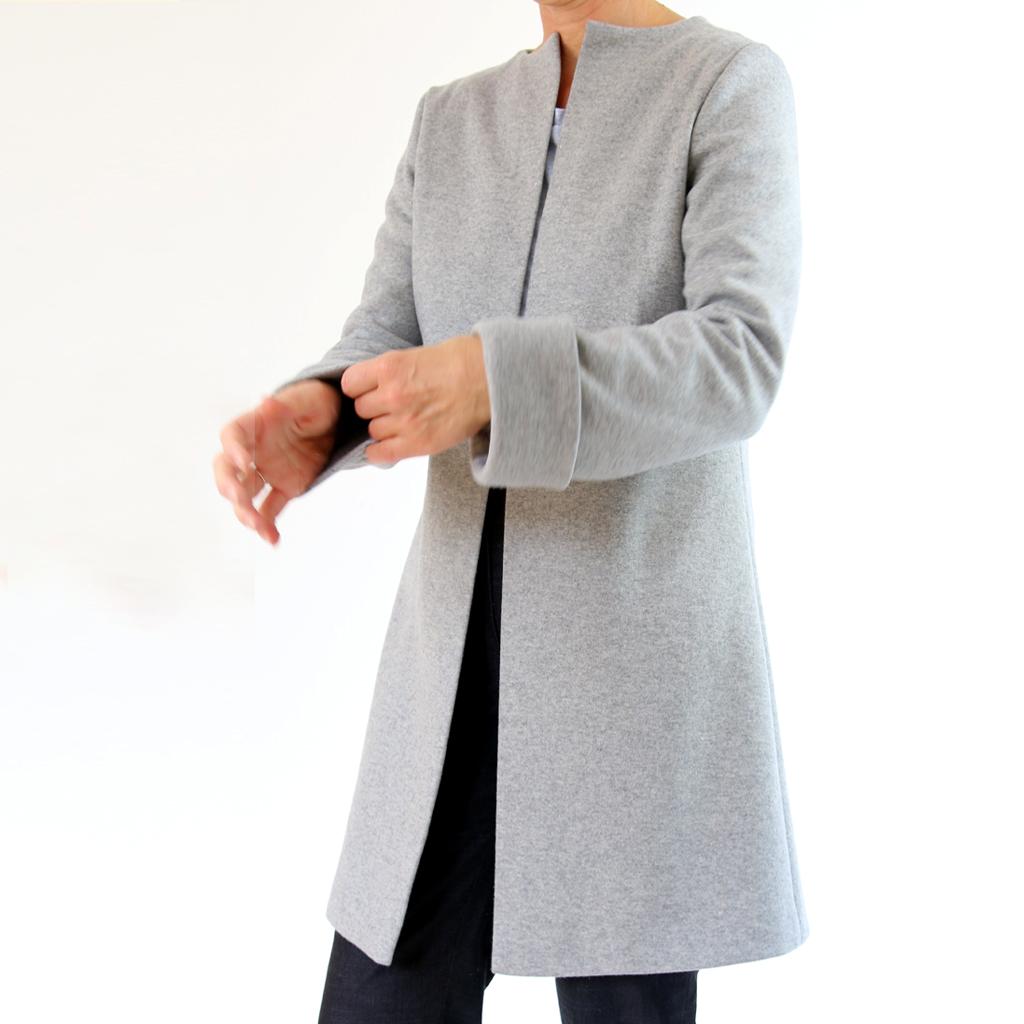 coat gray
