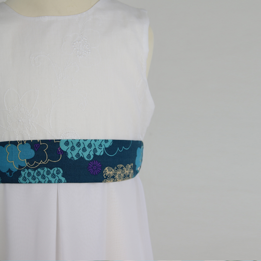 Baumwollgürtel blau