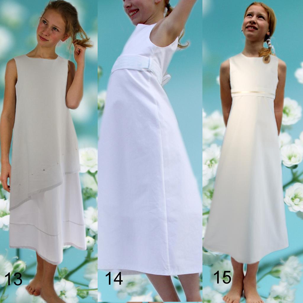weiße Mädchenkleider