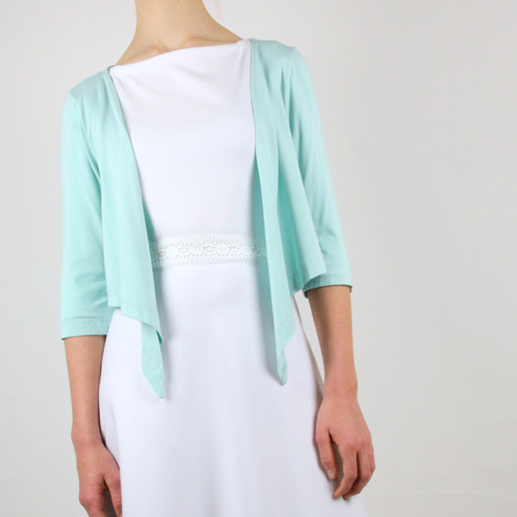 Wedding jacket mint