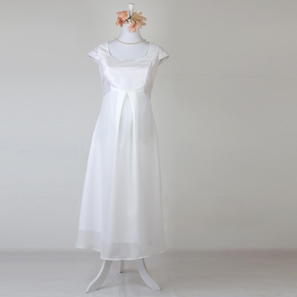 Hochzeitskleid für Schwangere | [ma:1]