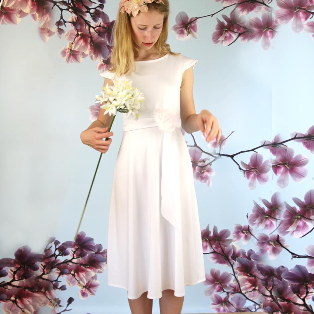 Brautkleid weich schwingend