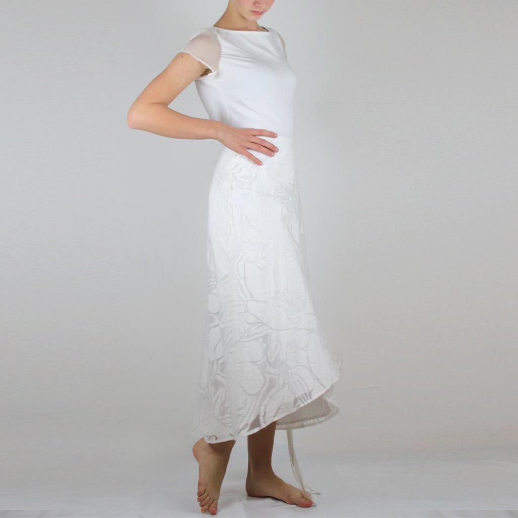 2 Röcke zu einem Hochzeitsrock