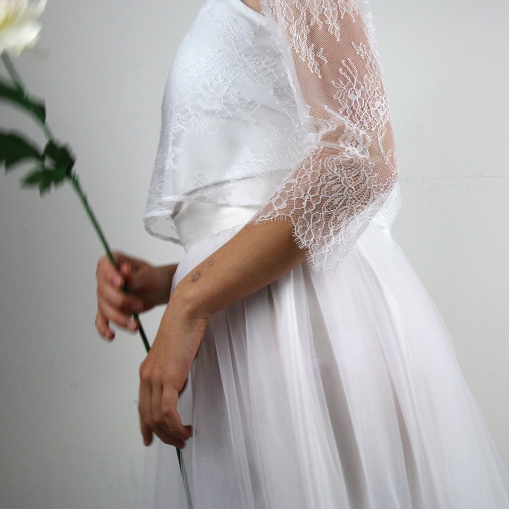 Tüllrock für die Braut