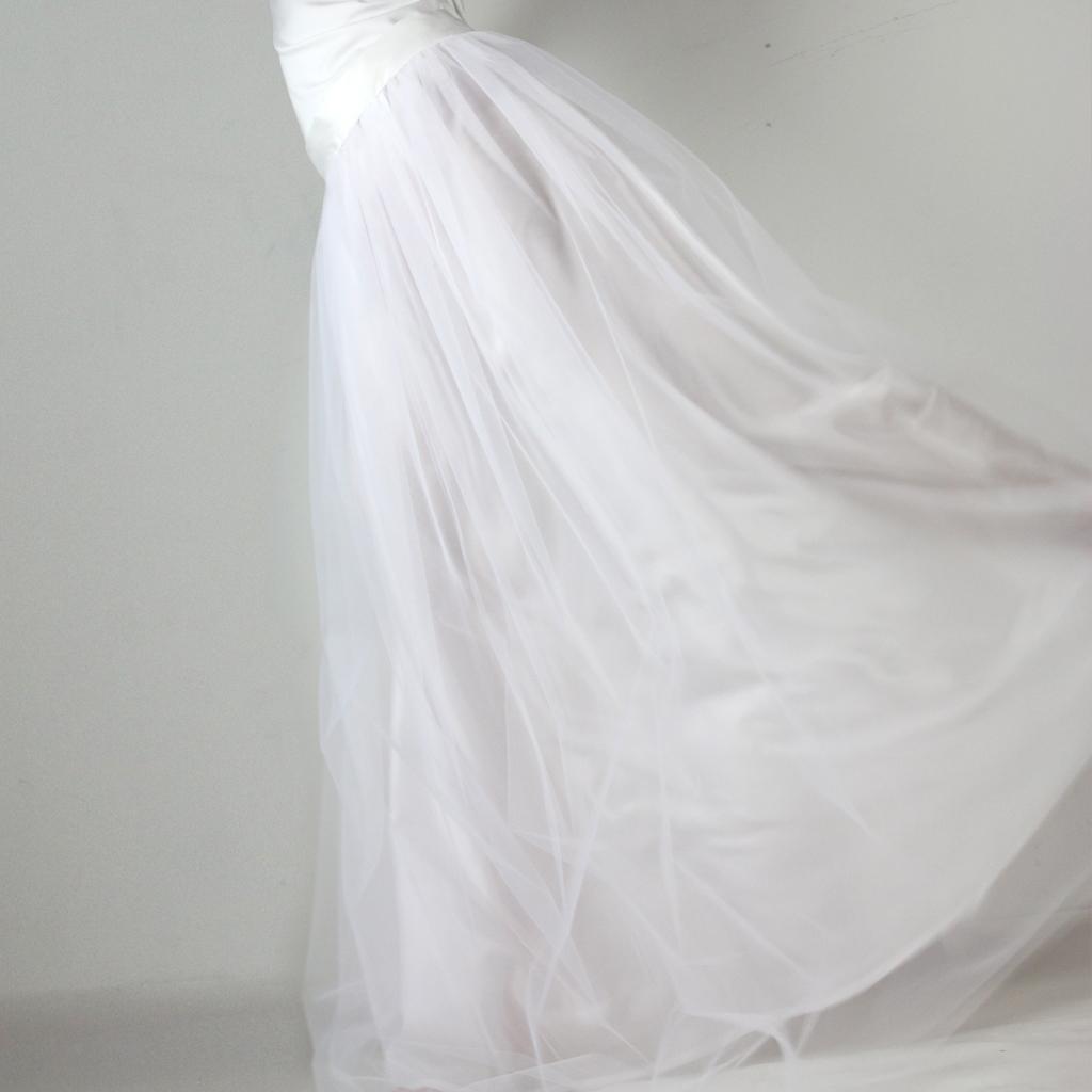 weißer Tüllrock für deine Hochzeit