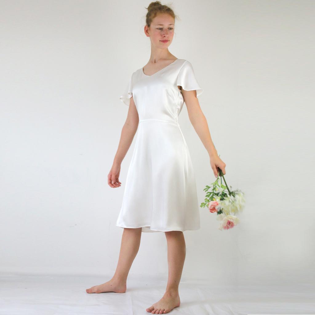 Vitage Hochzeitskleid