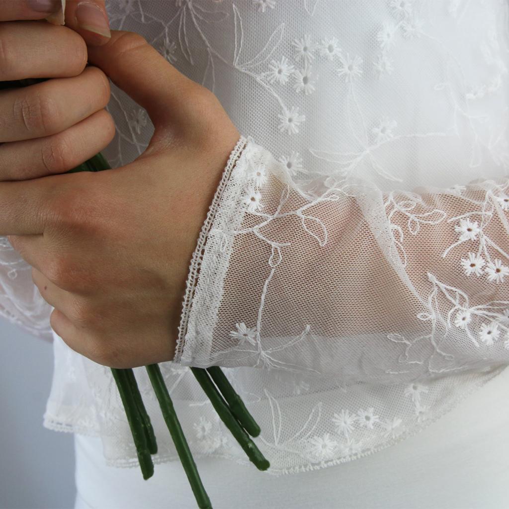 Hochzeitsoberteil in ivory