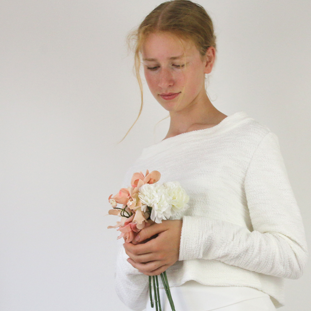 weicher Braut Pullover