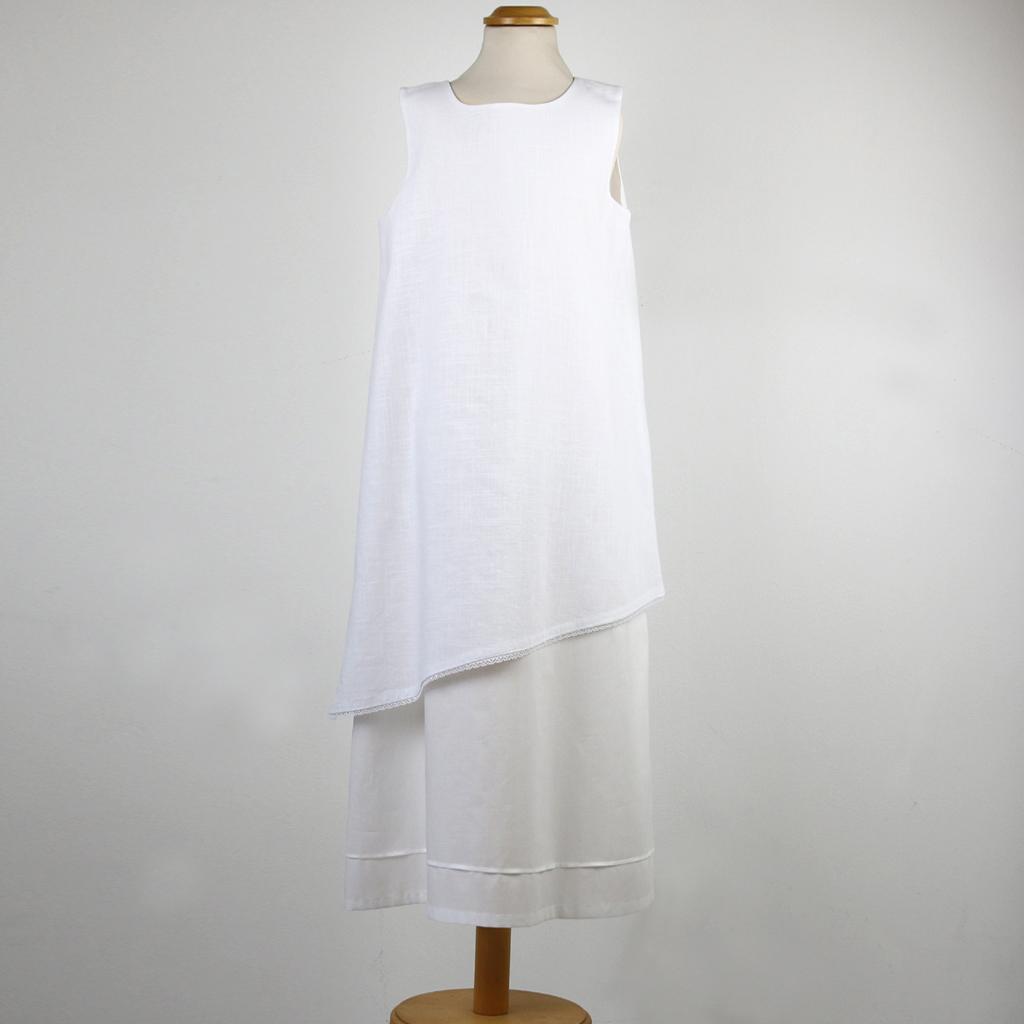 weißes festliches Mädchenkleidle