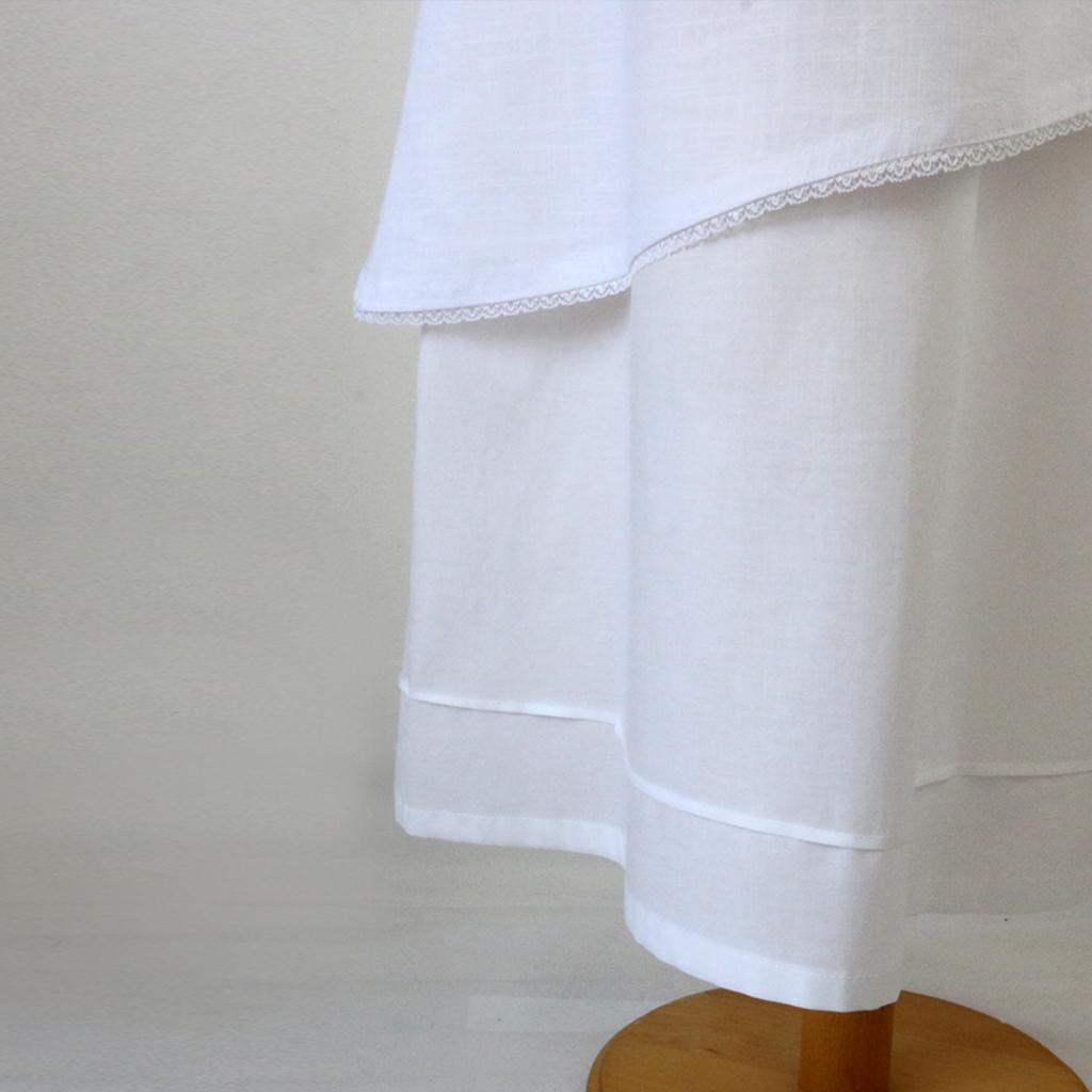 Baumwollkleid zur Kommunion
