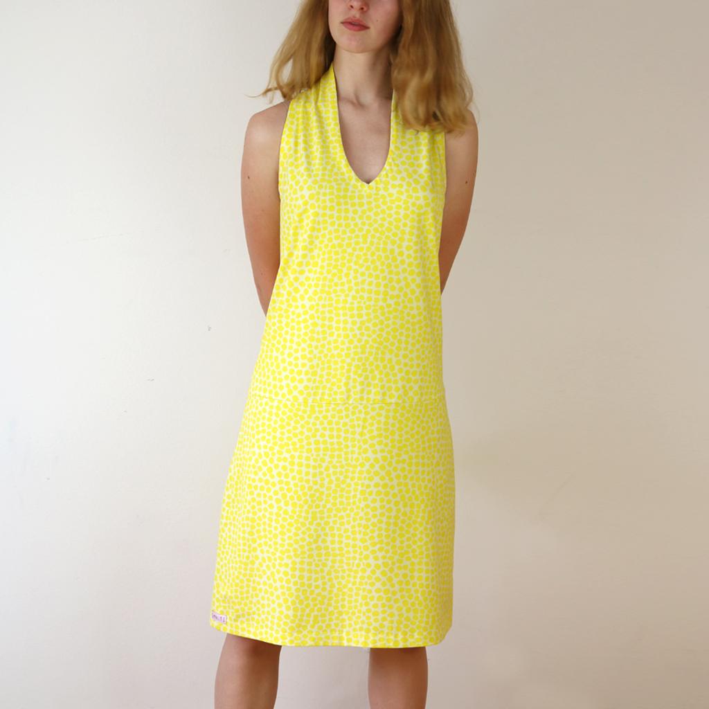 weiches Kleid für den Strandurlaub. In München designed und angefertigt. Atelier ma-eins
