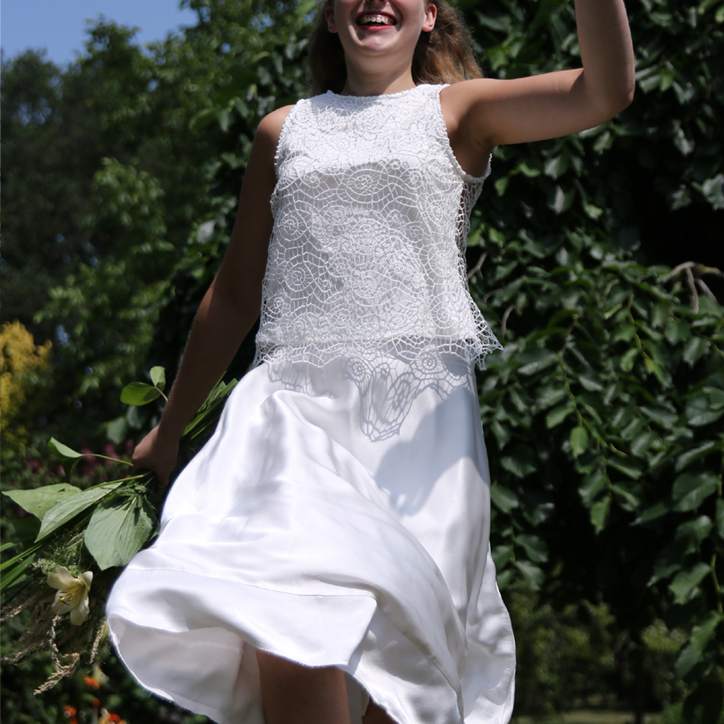 Brautkleider zum wohlfühlen. Individuelle Anpassung. Im Münchener Atelier für Brautmode ma-eins