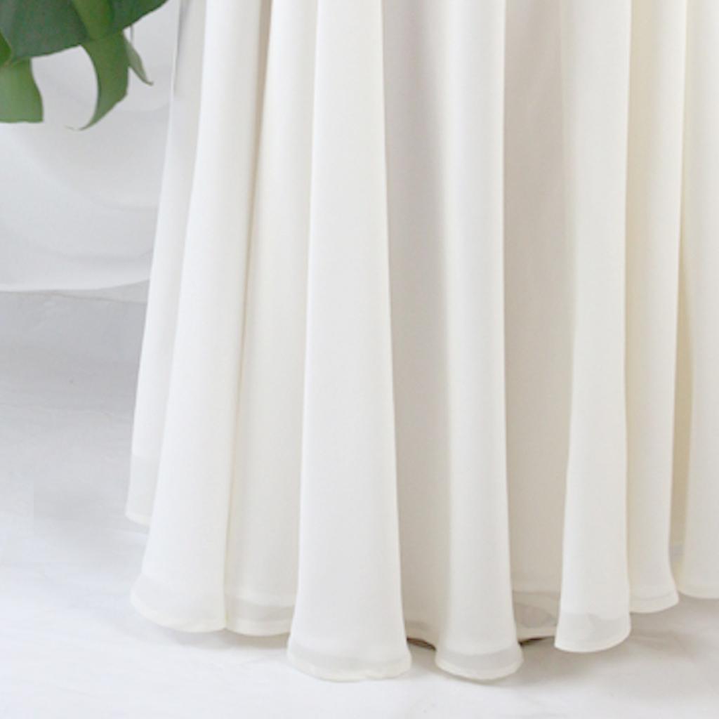 langer Brautrock in ivory, klassisch, pur und schlicht. Brautkleider in der Mix-Match bridal Kollektion. Aus München