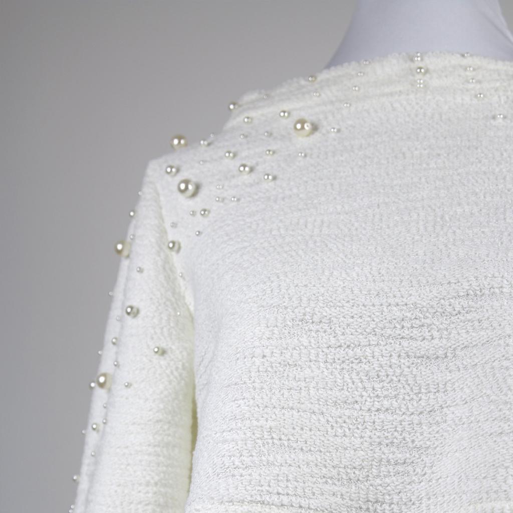 Hochzeitspullover nach Mass und wunschanfertigung. In München nachhaltig produziert.