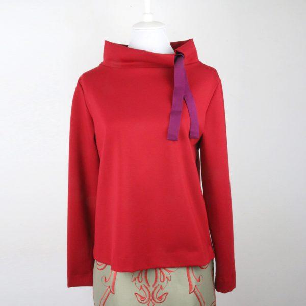 Der Jerseypullover ist toll zum kombinieren und siehtr immer perfekt aus. Modelabel ma-eins aus München
