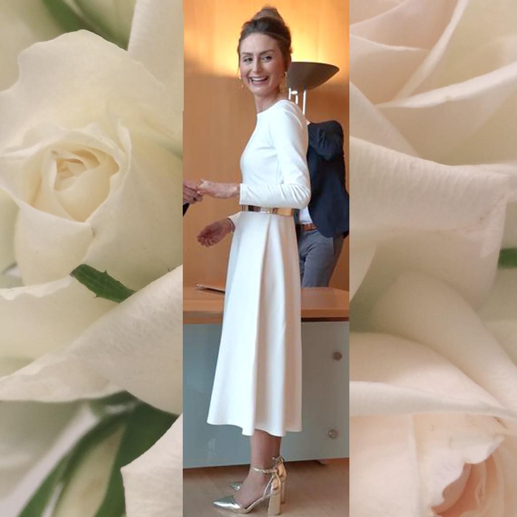 nachhaltige Brautkleider im Atelier ma-eins kannst du dir dein Hochzeitskleid anfertigen lassen.