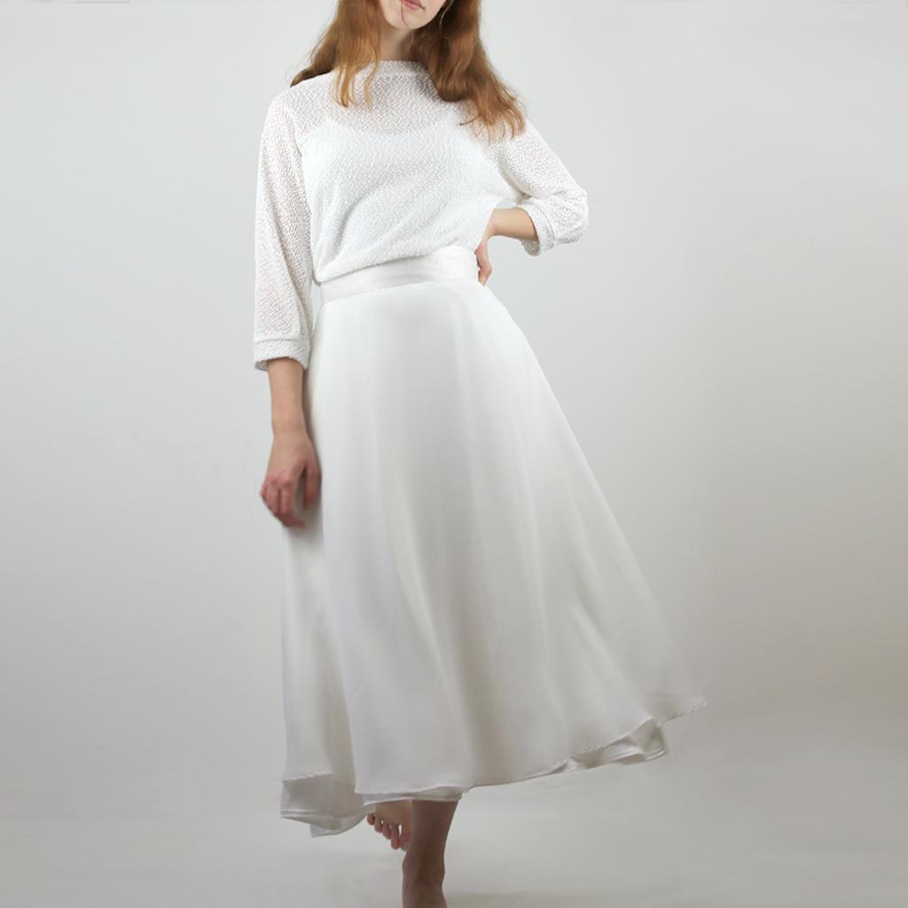 modernes Standesamtkleid für deine Hochzeit