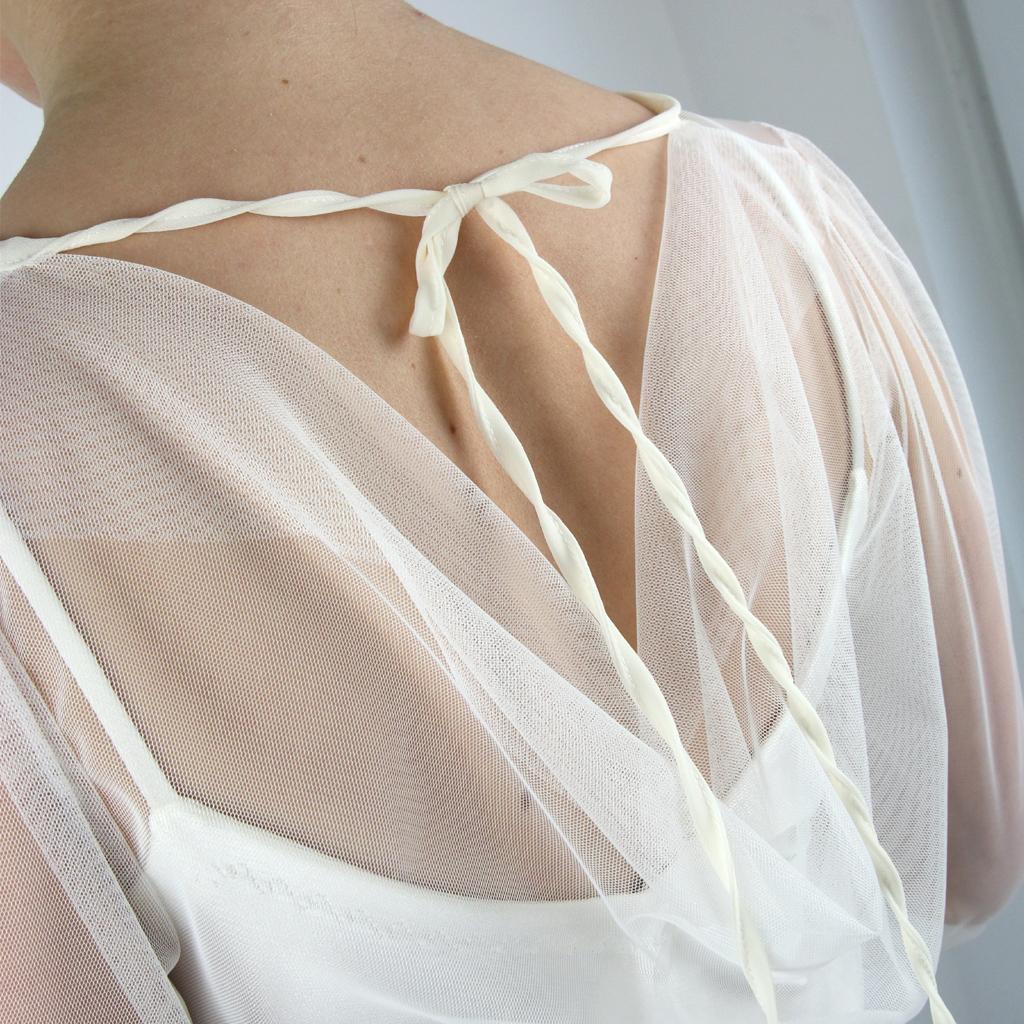 rückenfreies Brautoberteil individuelle Brautkleider aus München